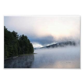 Impressão da foto da represa de Saville