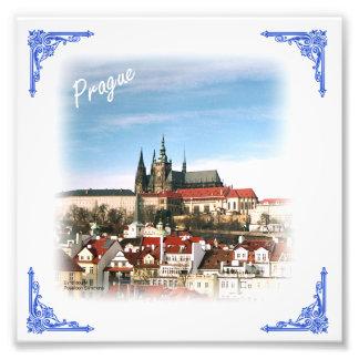 Impressão da foto da república checa da cidade de impressão de foto