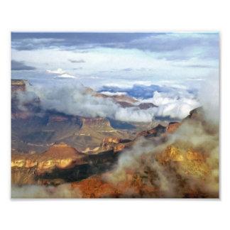 Impressão da foto das belas artes do Grand Canyon,