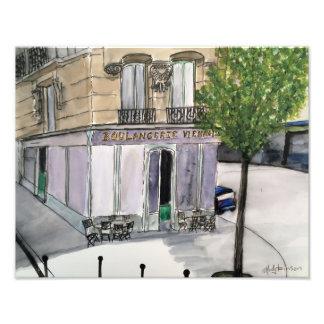 Impressão da foto de Boulangerie Paris