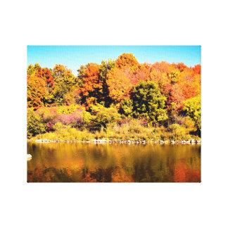 Impressão da foto de Ontário das cores da queda