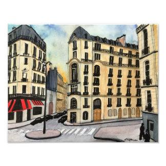 Impressão da foto de Paris