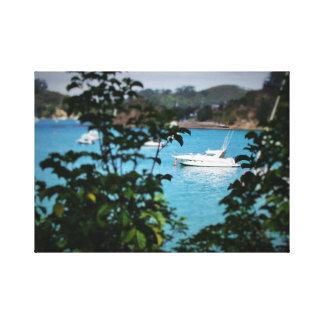 Impressão da foto do barco