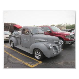 Impressão da foto do caminhão do hot rod do GM Impressão De Foto