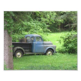 Impressão da foto do caminhão do vintage impressão de foto