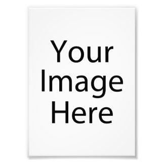 impressão da foto do cetim 5 x 7 (profissional de