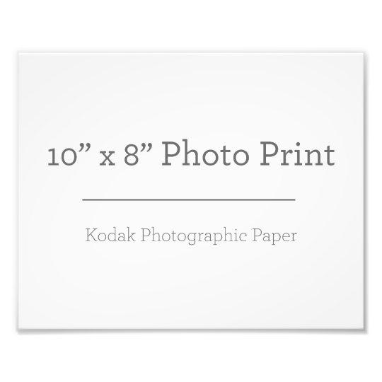 25.4cm x 20.32cm, Papel Profissional de Foto Kodak (Cetim)