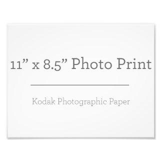 Impressão da foto do costume 11 x 85 impressão de foto