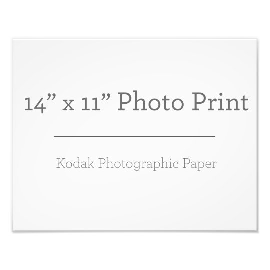 35,56cm x 27,94cm, Papel Profissional de Foto Kodak (Cetim)