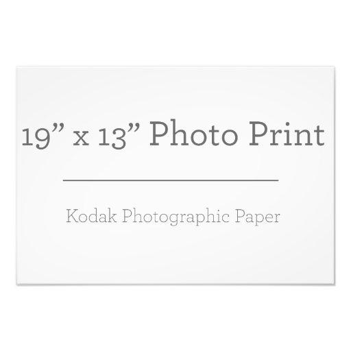 48,26cm x 33,02cm, Papel Profissional de Foto Kodak (Cetim)