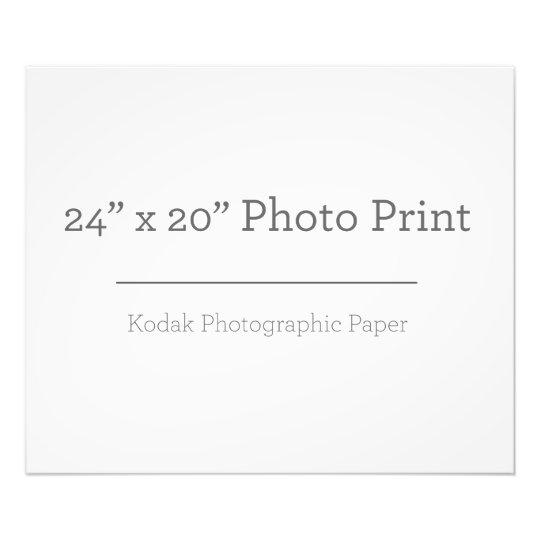 60,96cm x 50,8cm, Papel Profissional de Foto Kodak (Cetim)