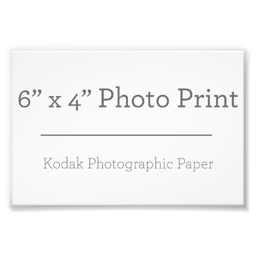 15,24cm x 10,16cm, Papel Profissional de Foto Kodak (Cetim)