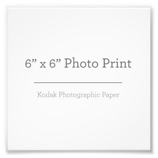 15,24cm x 15,24cm, Papel Profissional de Foto Kodak (Cetim)
