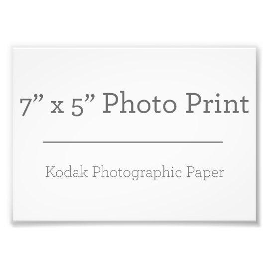 17,78cm x 12,7cm, Papel Profissional de Foto Kodak (Cetim)