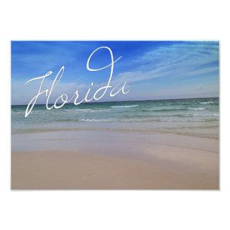 Impressão da foto do Sandy Beach de Florida