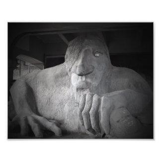 Impressão da foto do troll de Seattle Fremont Impressão De Foto