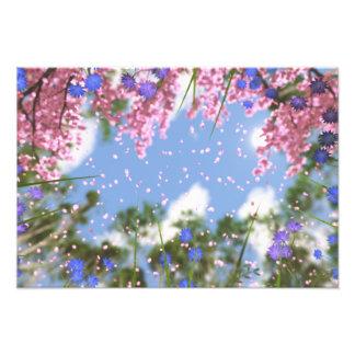 Impressão da foto dos chás de abril