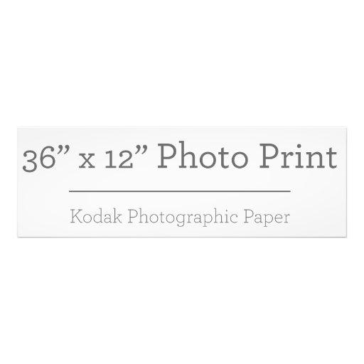 91,44cm x 30,48cm, Papel Profissional de Foto Kodak (Cetim)