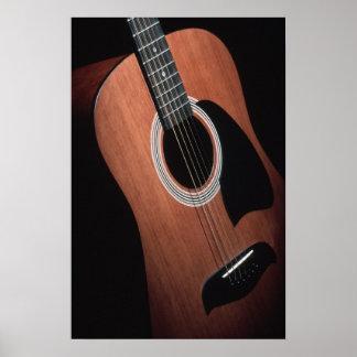 Impressão da guitarra sem beiras