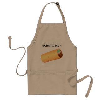 Impressão da imagem do Burrito no avental padrão