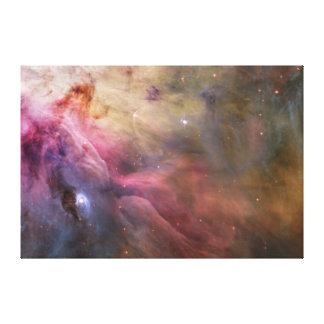 Impressão da nebulosa da correia de Orion
