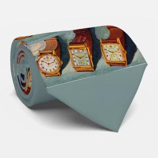 impressão da novidade dos relógios de pulso dos gravata