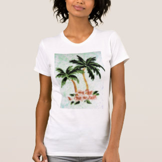 Impressão da palma tshirts