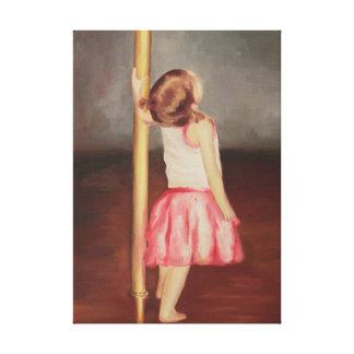 """Impressão da pintura a óleo original """"dançarino de"""