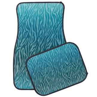 Impressão da zebra de Ombre do Aqua Tapete Para Carro