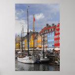 Impressão das belas artes da cor de Copenhaga