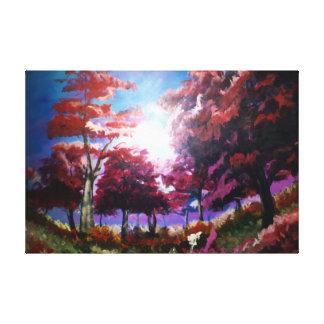 Impressão das belas artes do prado em canvas