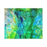 Impressão das canvas 20x16 dos cristais 2 do ocean impressão em canvas