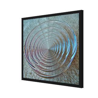 Impressão das canvas - abstrato do vidro