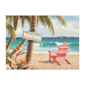 "Impressão das canvas ao paraíso de Alan Giana ""boa"