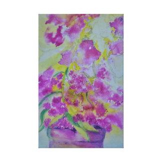 impressão das canvas da aguarela
