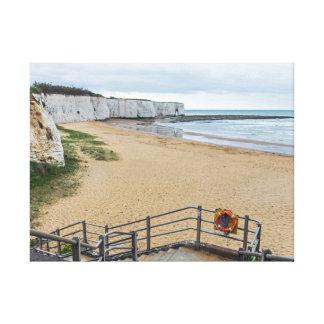 Impressão das canvas da baía de Broadstairs