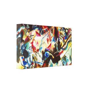 Impressão das canvas da composição VI de Kandinsky