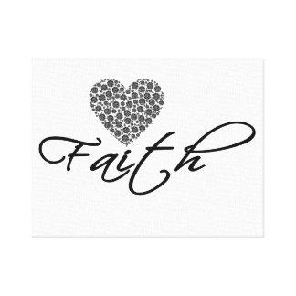 Impressão das canvas da fé, tapeçaria, decoração