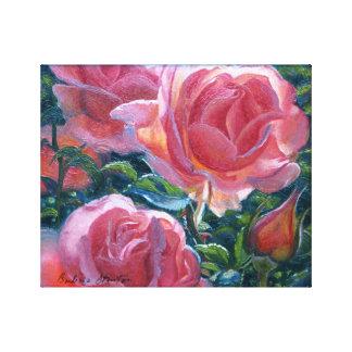 """""""Impressão das canvas da galeria dos rosas corais"""""""