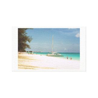 Impressão das canvas da ilha de Grande Caimão
