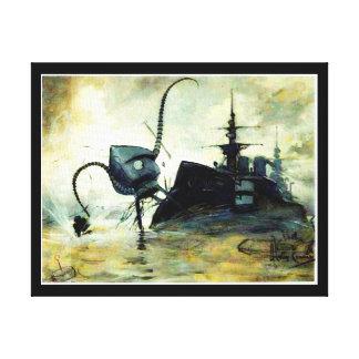 Impressão das canvas da invasão de 1906 Marciano