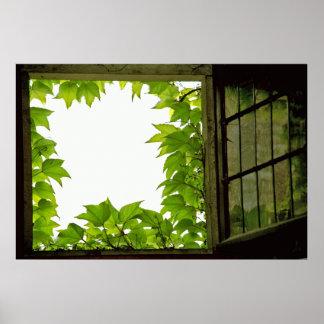 Impressão das canvas da janela