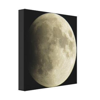 Impressão das canvas da lua