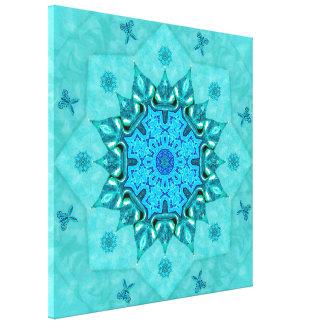 Impressão das canvas da mandala da natureza de