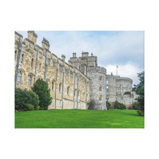Impressão das canvas da opinião do castelo de