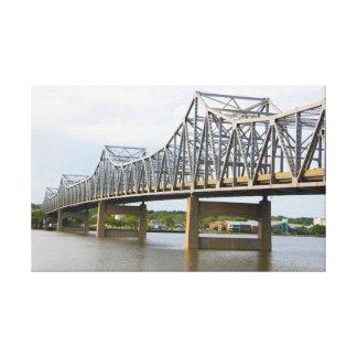 Impressão das canvas da ponte