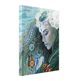 Impressão das canvas da sereia da serenidade