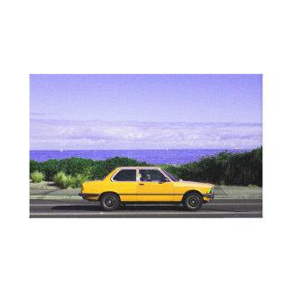 Impressão das canvas da viagem por estrada