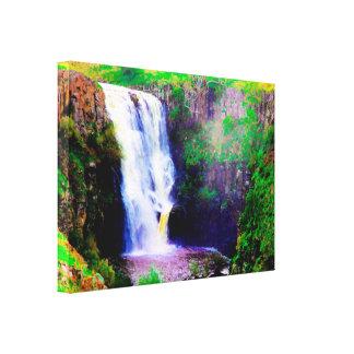 Impressão das canvas das cachoeiras de Austrália