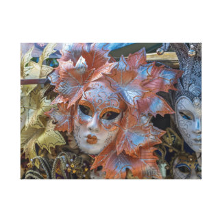 Impressão das canvas das máscaras do carnaval de